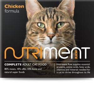 Nutriment Chicken Formula Cat 500g