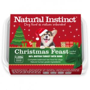 Natural Instinct Christmas Feast for Dogs 2x500g