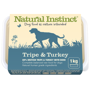 Natural Instinct Tripe & Turkey 1kg