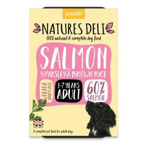 Natures Deli Salmon & Brown Rice 400g