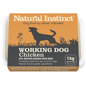 Natural Instinct Working Dog Chicken 1kg