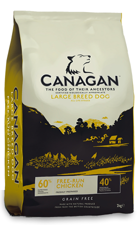 Canagan Free Run Chicken Dry Dog Food Kg