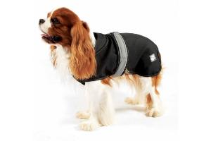 Danish Design 2 in 1 Dog Coat Black 70cm