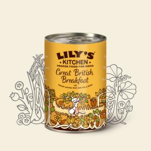 Lily's Kitchen Great British Breakfast Tin 400g