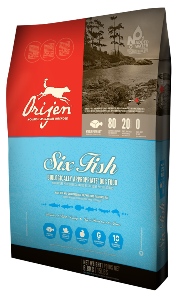 Orijen Dog Six Fish 11.4kg