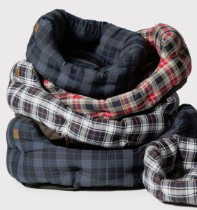 Danish Design Deluxe Slumber Bed 89cm Lumberjack Navy/Grey