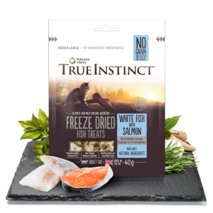 True Instinct Freeze Dried Cat Treat Fish 40g