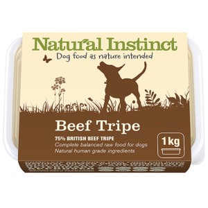 Natural Instinct Beef Tripe 1kg