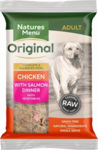 Natures Menu Chicken with Salmon Dinner 300gx12