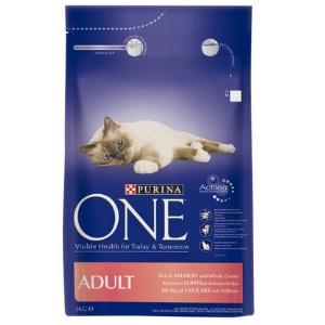 Purina One Cat Adult Salmon 3kg