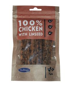 Hollings Chicken with Linseed Bars - 7 Pack