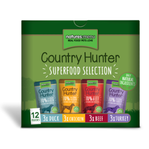 Country Hunter Dog Pouch Multipack 150gx12