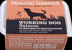 Natural Instinct Working Dog Chicken Salmon 1kg