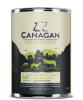Canagan British Lamb with White Fish Dog Can 400gx6