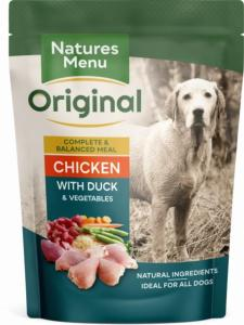Natures Menu Chicken With Duck Pouch 300gx8