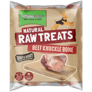 Natures Menu Raw Knuckle Bone (Half)
