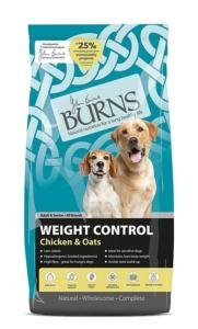 Burns Weight Control Chicken & Oats 12kg
