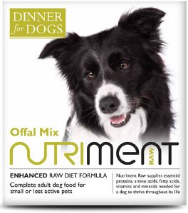 Nutriment Dinner For Dogs Offal Mix 200g