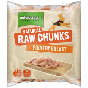 Natures Menu Poultry Breast Meat 1kg