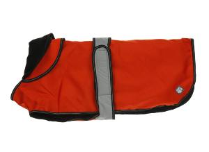 Danish Design 2 in 1 Dog Coat Orange 70cm