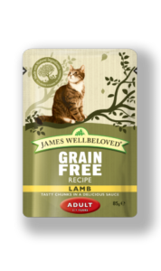 James Wellbeloved Cat Pouch Lamb 85gx12