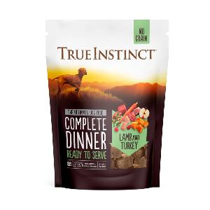 True Instinct Freeze Dried Complete Lamb & Turkey Dinner 120g