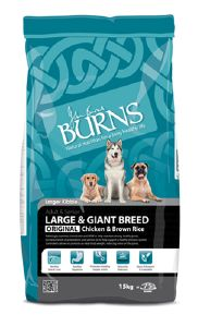 Burns Original Large & Giant Breed Chicken & Brown Rice 15kg