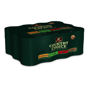 Country Choice Mixed Tins in Jelly 1.2kgx6