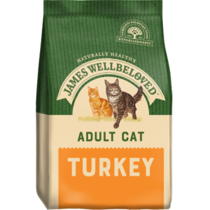 James Wellbeloved Cat Adult Turkey 1.5kg