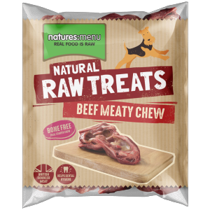 Natures Menu Raw Beef Meaty Chew (Throttle)