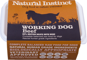 Natural Instinct Working Dog Beef 1kg