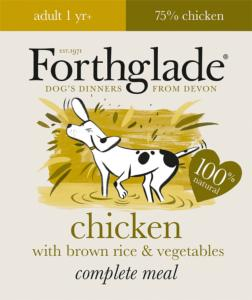 Forthglade Complete Adult With Rice Mixed Case 395gx18