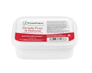 Purrform Beef Trim with Ox Heart 250g