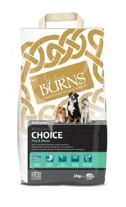 Burns Choice Fish & Maize 12kg