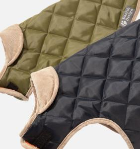 Danish Design Quilted Dog Coat Navy 70cm