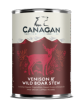 Canagan Venison & Wild Boar Stew Dog Can 400gx6