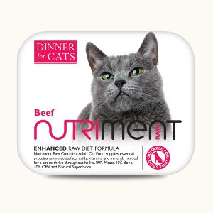 Nutriment Dinner for Cats - Beef 175g