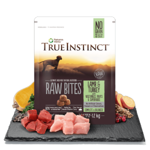 True Instinct Raw Bites Dog Lamb & Turkey 1.2kg