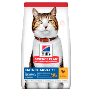 Hills Cat Mature 7+ Chicken 1.5kg