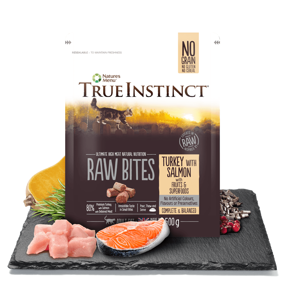 Natures Menu raw cat food