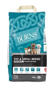 Burns Original Toy & Small Breed Chicken & Brown Rice 2kg