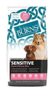 Burns Sensitive Duck & Brown Rice 12kg