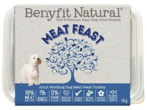 Benyfit Natural Meat Feast Turkey 1kg