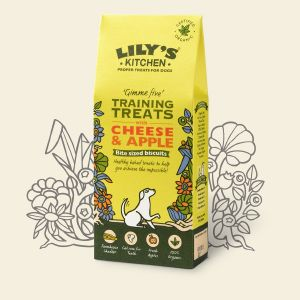Lily's Kitchen Cheese & Apple Training Treats 100g