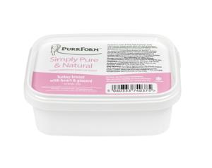 Purrform Turkey Breast with Heart and Gizzard 250g