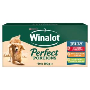 Winalot Pouch Chunks in Jelly 40 Pack