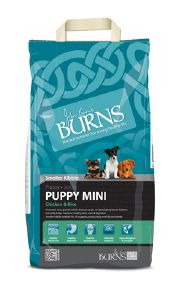 Burns Mini Puppy Chicken & Brown Rice 12kg