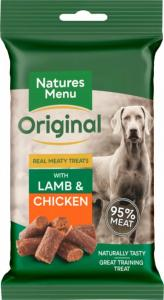 Natures Menu Lamb & Chicken Dog Treat 60g