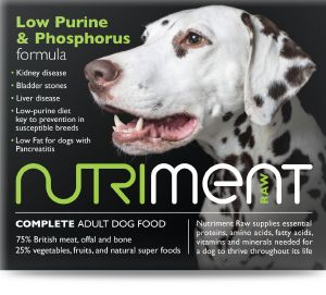 Nutriment Low Purine & Phosphorus Formula 1.4kg Chubb