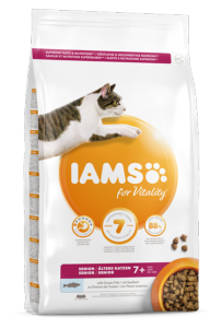 Iams Cat Senior Fish 2kg